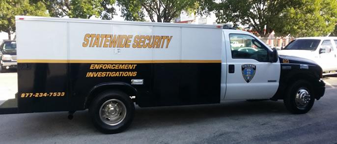 Security Patrol Trucks