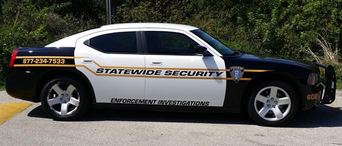 Security Patrol Cars